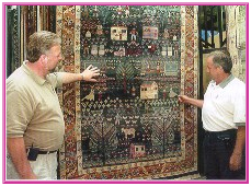 Consulting with our experts in choosing the right carpet, tile, laminate and window coverings to suit your lifestyle.